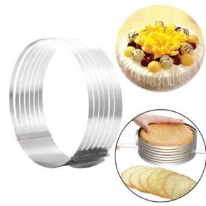 Форма для выпечки и нарезки бисквита с регулируемым диаметром 24 - 30см купить в Санкт-Петербурге в магазине для поваров – For Chef Strore. Качественные товары. Доставка.