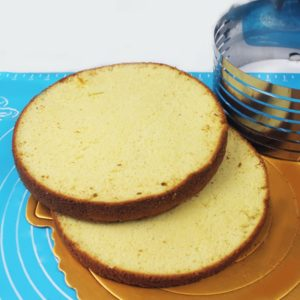 Форма для выпечки и нарезки бисквита с регулируемым диаметром 24 - 30 х 8 см