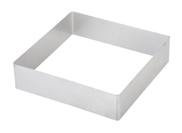 Форма для выпечки квадратная 200 мм, нержавеющая сталь