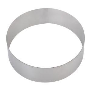 Форма для торта круглая 140 мм, нержавеющая сталь купить в Санкт-Петербурге в магазине для поваров – For Chef Strore. Качественные товары. Быстрая доставка.
