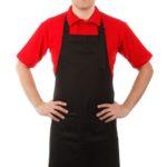 Фартук «Гриль» черный купить в Санкт-Петербурге и Ленинградской области можно в интернет-магазинеFor Chef Store