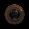 Тарелка для пасты «Corone» 252 мм черная