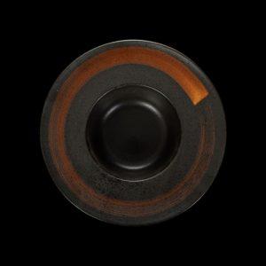 Тарелка для пасты «Corone» 230 мм черная купить в СПб можно в магазине для поваров – For Chef Strore. Спецодежда для поваров. Быстрая доставка.