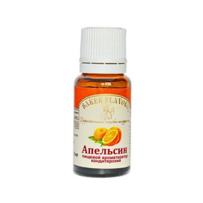 Пищевой ароматизатор Апельсин 10 мл (Baker Flavors) приобрести в Санкт-Петербурге и Ленинградской области можно в интернет-магазине FOR CHEF STORE.