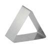 Форма для выпечки/выкладки гарнира или салата «Треугольник» 80х80 мм приобрести в Санкт-Петербурге и Ленинградской области можно в интернет-магазинеFor Chef Store.