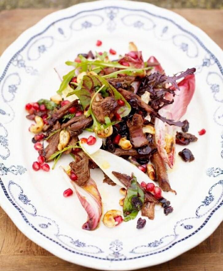 Салат из индейки в азиатском стиле от Джейми Оливера. Кулинарные рецепты. Интересные и оригинальные рецепты для приготовления блюд собраны в блоге для поваров.