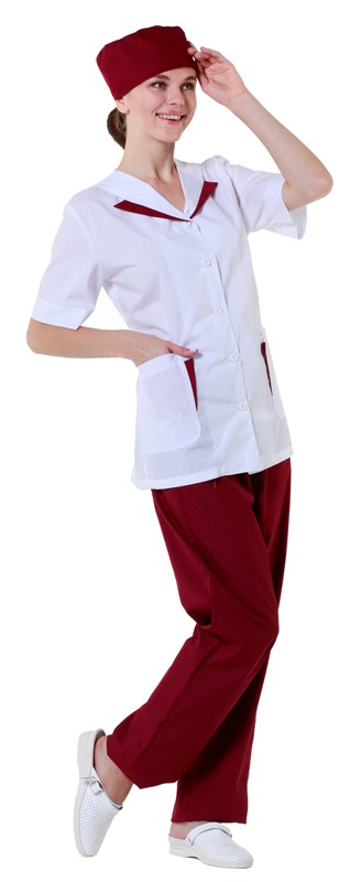 Блузон женский на пуговицах купить в Санкт-Петербурге в магазине для поваров – For Chef Strore. Качественные товары. Доставка.