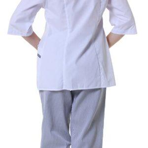 Куртка женская белая купить в Санкт-Петербурге в магазине для поваров – For Chef Strore. Качественные товары. Доставка.