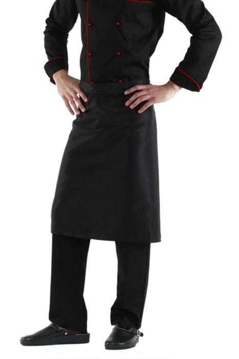 Фартук шеф-повара черный в Санкт-Петербурге и Ленинградской областиможно в интернет-магазине для поваровFOR CHEF STORE.