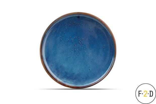 Тарелка синяя 28.5X3CM Nova, F2D Бельгия, купить в Санкт-Петербурге в магазине для поваров – For Chef Strore. Качественные товары. Доставка.