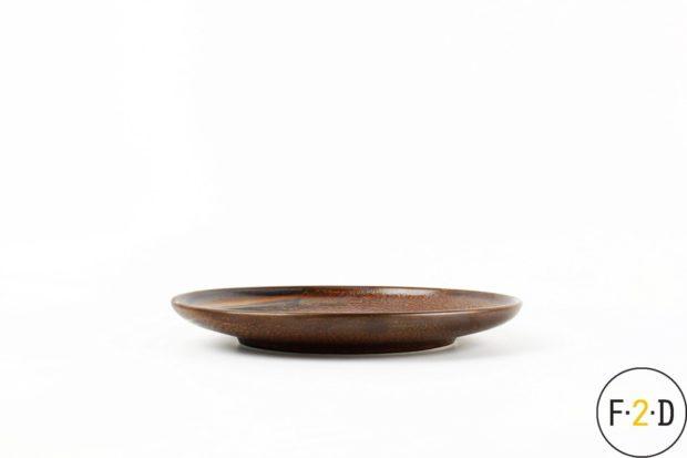 Тарелка плоская коричневая 20CM, F2D Бельгия, купить в Санкт-Петербурге в магазине для поваров – For Chef Strore. Качественные товары. Доставка.