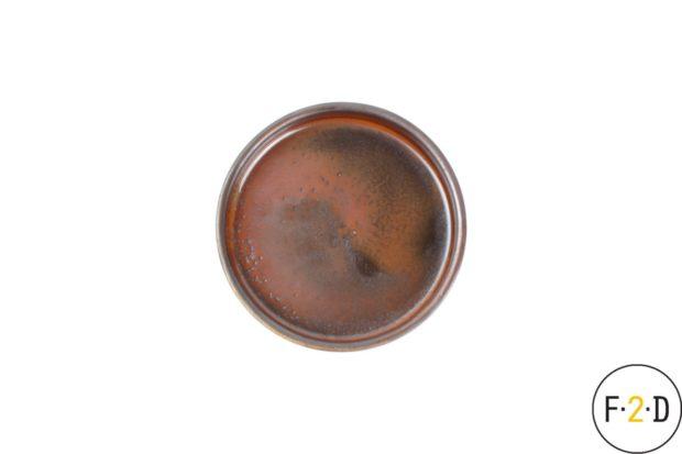 Блюдечко для крем-брюле13.5X3CM коричневое, F2D Бельгия, купить в Санкт-Петербурге в магазине для поваров – For Chef Strore. Качественные товары. Доставка.