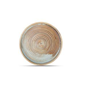 Тарелка с вертикальным бортом 17.5X2.5CM коричневая, F2D Бельгия, купить в Санкт-Петербурге в магазине для поваров – For Chef Strore. Качественные товары. Доставка.