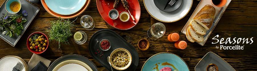 Посуда фарфоровая бренда Seasons by Porcelite Великобритания, купить в Санкт-Петербурге в магазине для поваров – For Chef Strore. Качественные товары. Доставка.