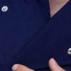 Куртка (китель) повара синяя универсальная купить в Санкт-Петербурге в магазине для поваров – For Chef Strore. Качественные поварская форма. Доставка.